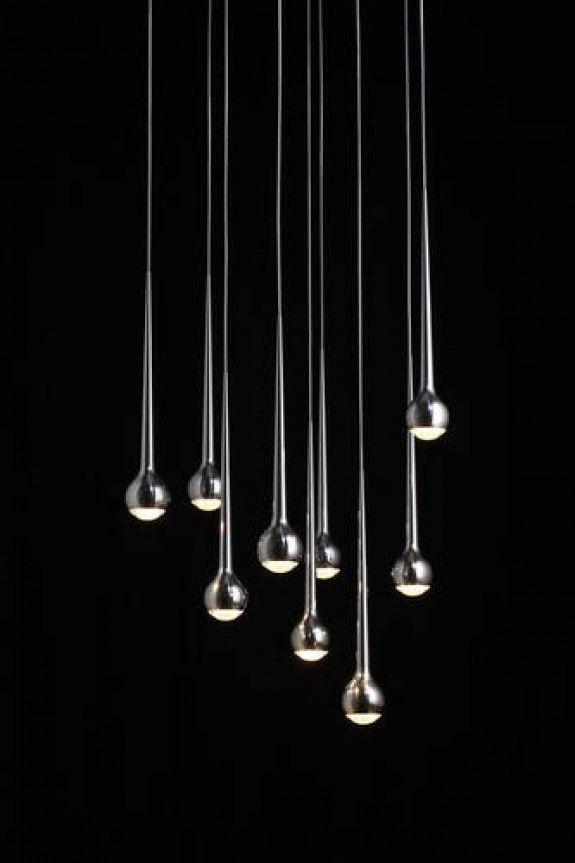 Spectacular Tobias Grau Falling water lamp