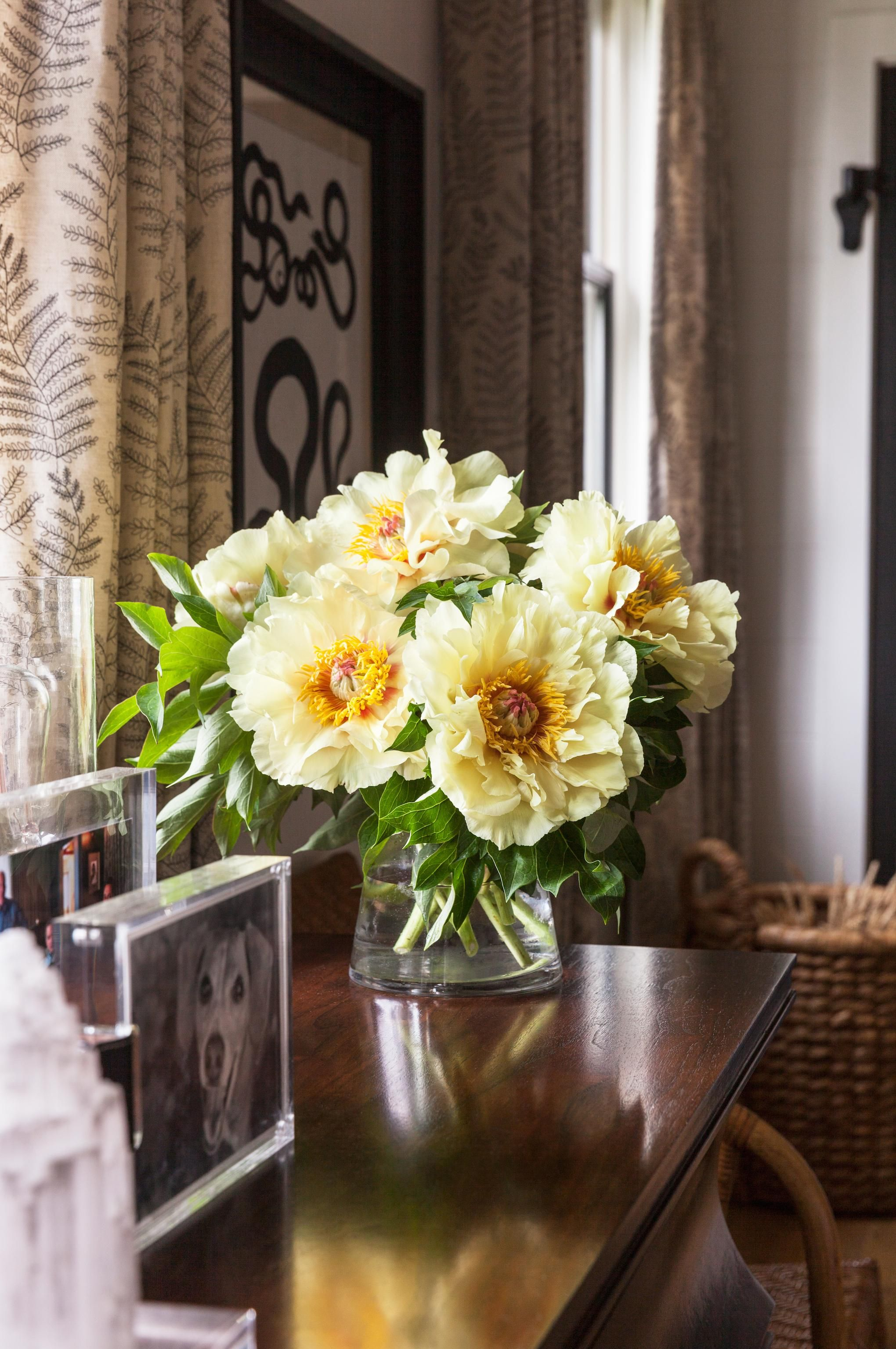 bright florals make any space inviting create the perfect space and get lake house design