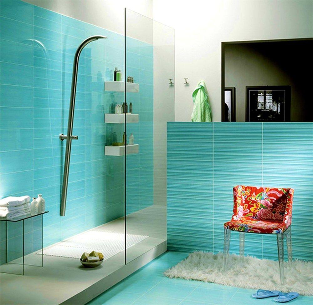 10 Turquoise Bathroom Ideas 2021 Shining And Bluish Turquoise Bathroom Bathroom Design Tile Bathroom
