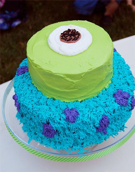 monsters university cake | 2Party.com – party ideas and more | Before party. To party. After ...
