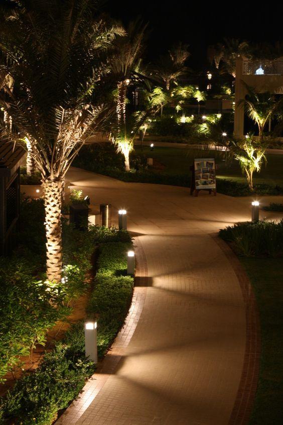 Iluminación para el jardín AG Pinterest - iluminacion jardin