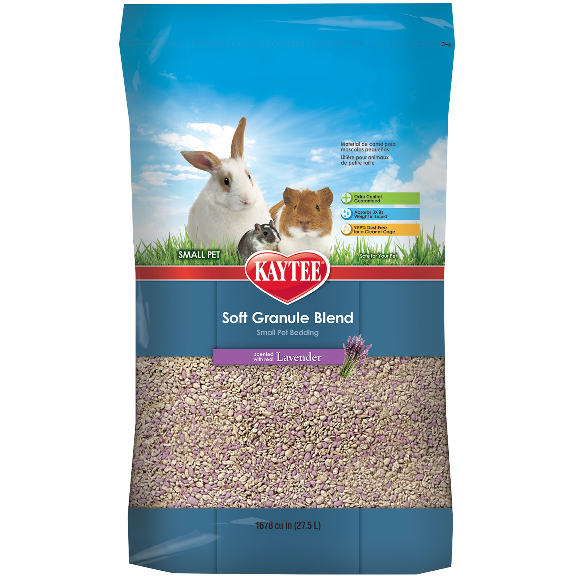 Kaytee Soft Granule Lavender 27 5 Liter 1678 Cu In Petco Small Animal Bedding Small Pet Bed Pet Beds