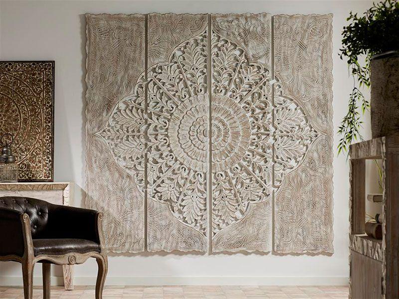 Panel tallado de 180 alesme dormitorio pinterest - Muebles marroquies en madrid ...