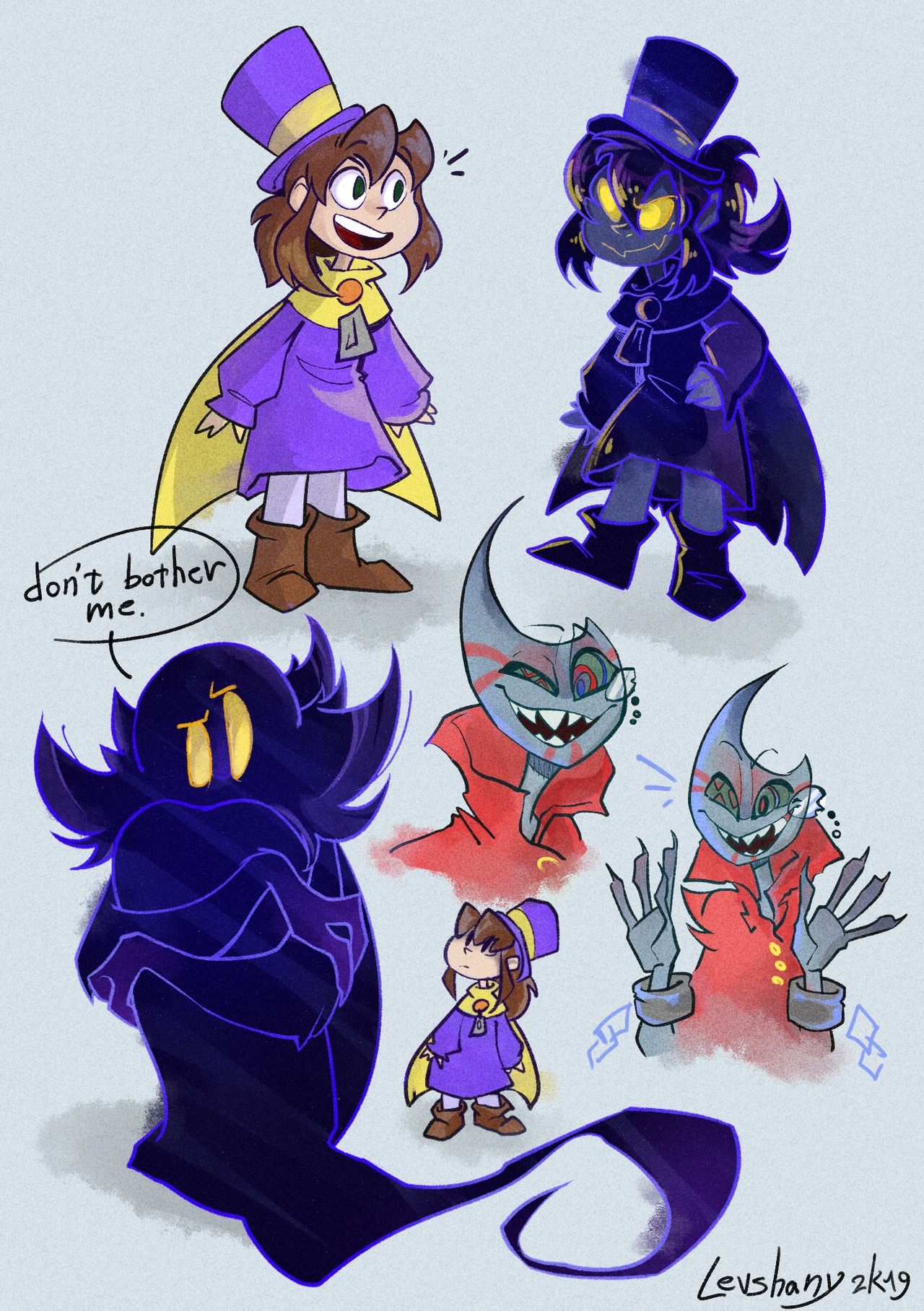 I M Lavash And You Re Welcome Some Drawings I Ll Be Honest It S A Pleasure To A Hat In Time Hat In Time A Hat In Time Moonjumper