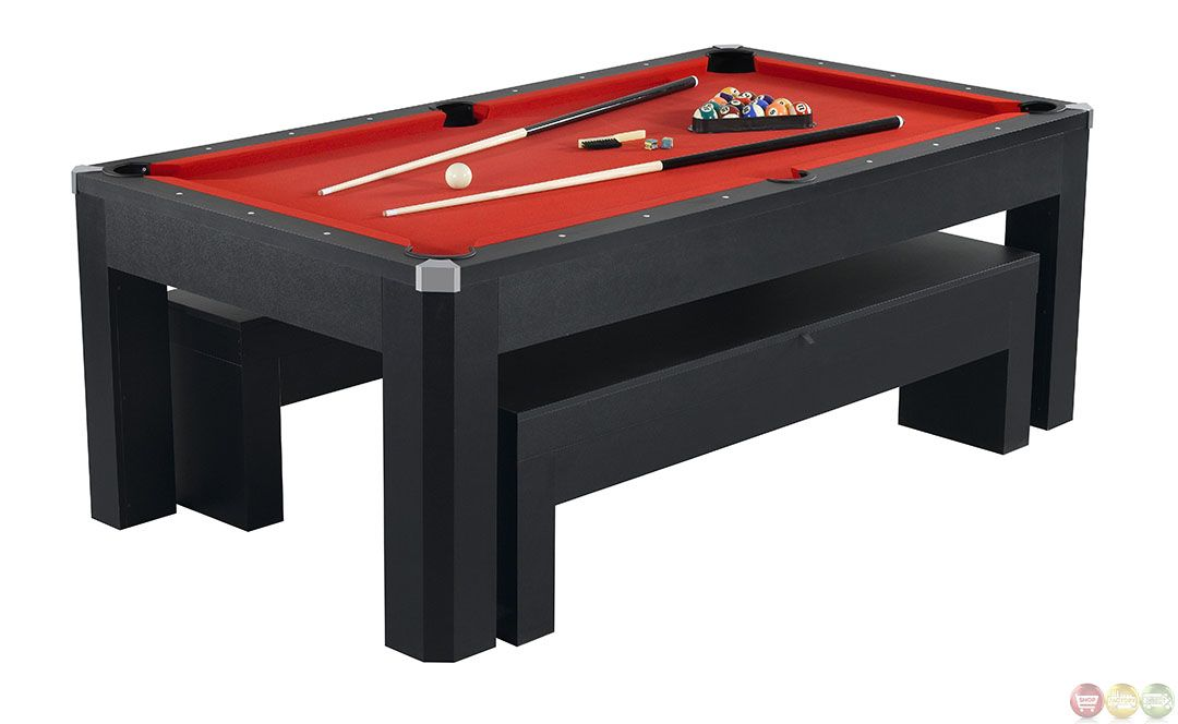 Park Avenue Multi Game 7 Ft Pool Table Bench Ping Pong Accessories 1299 95 Pool Table Pool Table Dining Table Outdoor Pool Table