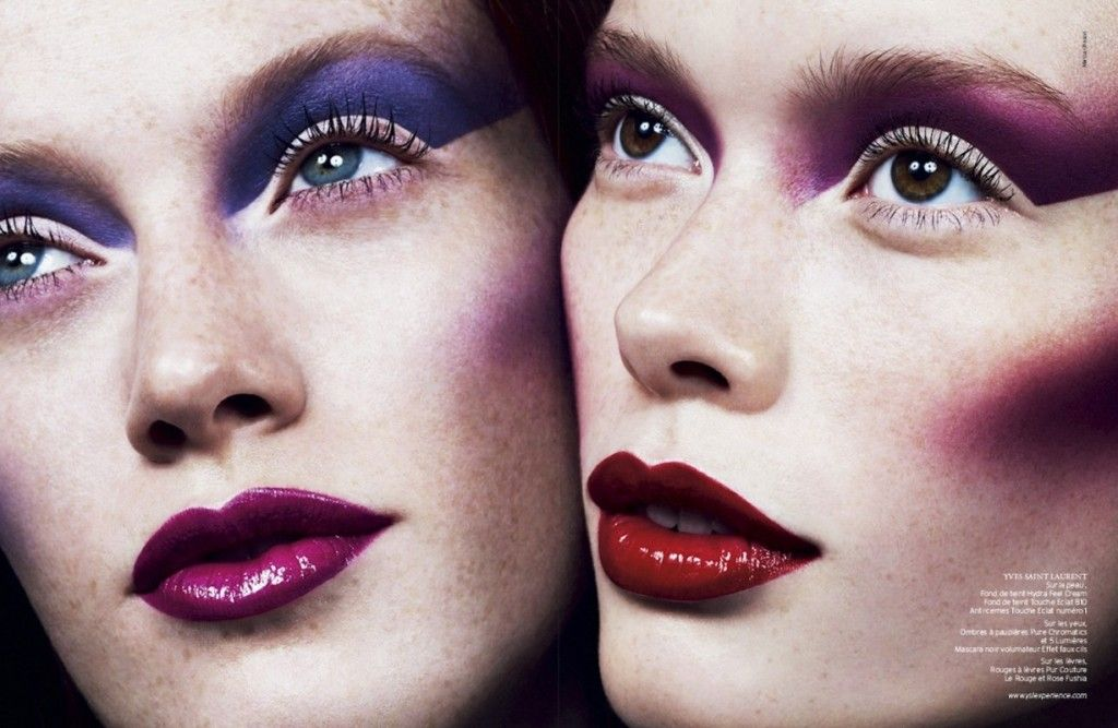 Double Face by Marcus Ohlsson for French Revue De Modes #22