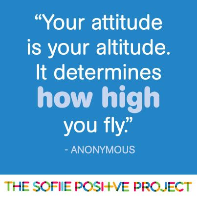 Positive project: Use your wings!