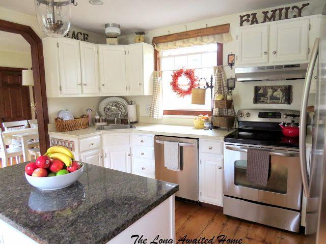 The Long Awaited Home: White Kitchen Reveal | Kitchen ...