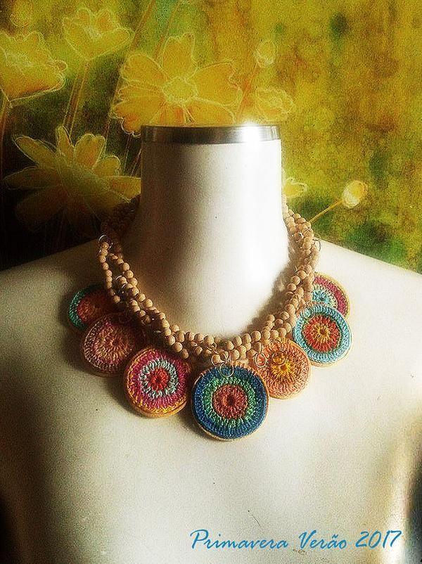 sophie digard inspiration | Crochê | Pinterest | Halsketten und Häkeln