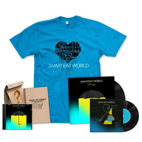 WANT. I love Jimmy Eat World and their new album is going to be great!