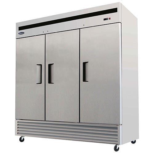 Bottom Mount Three Door Refrigerator Upright Freezer Solid Doors Refrigerator Sale