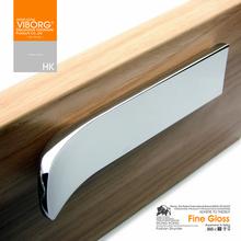 10Pcs Modern Style Kitchen Cabinet Cupboard Drawer Handle Pull Knob Furniture Hardware Bright Chrome
