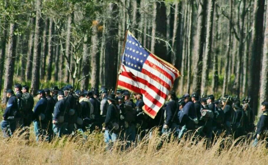Battle of olustee 2014 civil war battle country flags