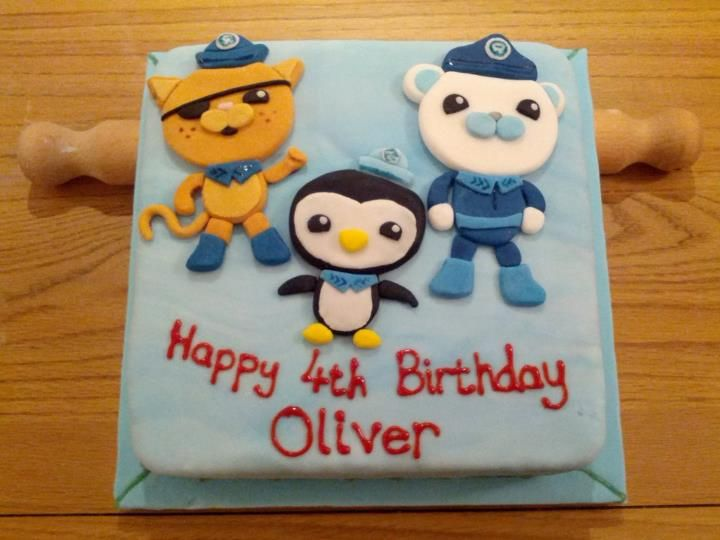Octonauts cake Gift and Party Ideas Pinterest Cake Octonauts