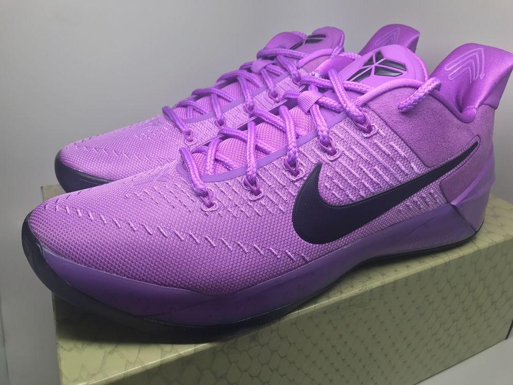"""Nike Kobe A.D. """"Purple Stardust """" 852425 500 Mens size 13"""
