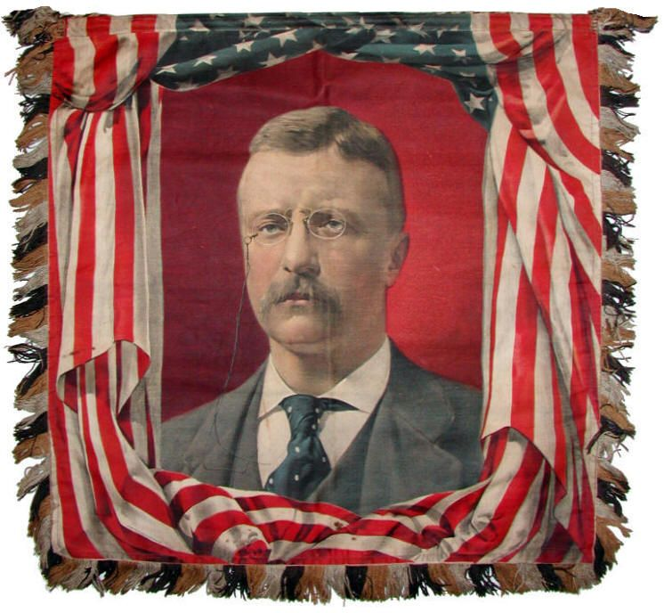 United States Of America Presidents Poster Flag Metal Portrait