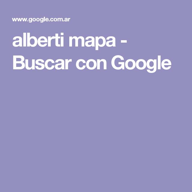 alberti mapa - Buscar con Google