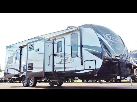 awesome new 2017 34 heartland torque t30 toy hauler 2 slides