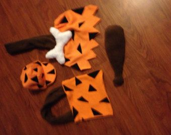 fred costume- Flintstone costumes toddler boy #pebblesandbambamcostumes