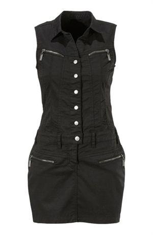 Mini dress black by Bubbleroom