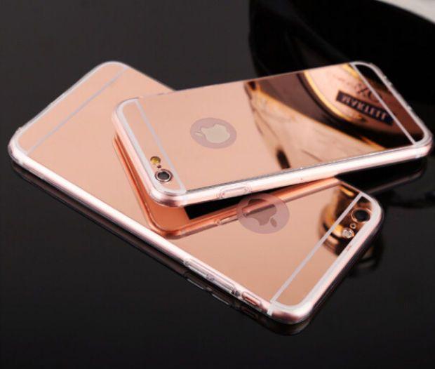 coque iphone 6 apple rose poudre