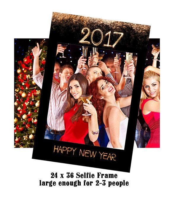 Photo Booth Props New Years Eve Party Decorations by ...