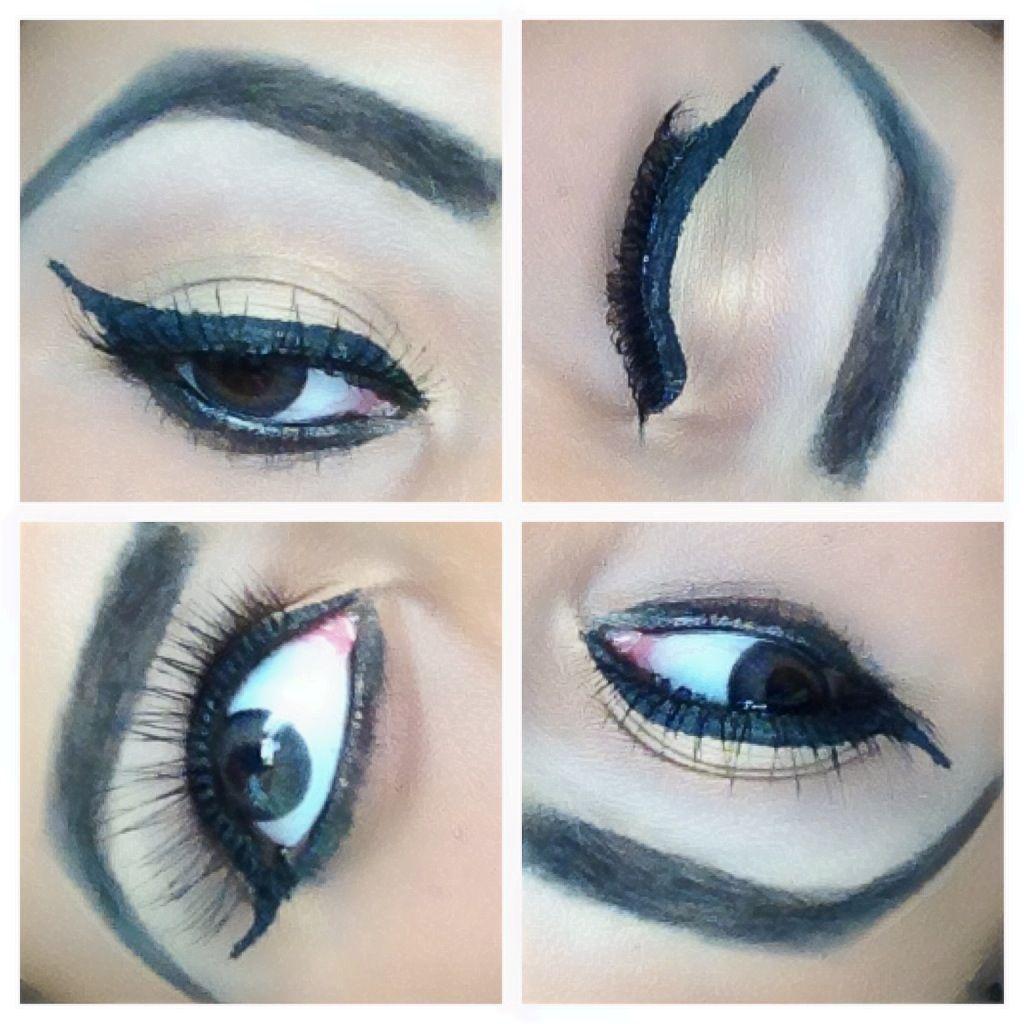 Neutral winged eyes