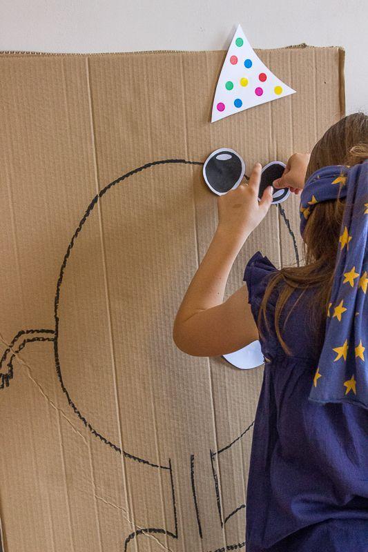 Juegos Infantiles Para Fiestas Dibujar A Ciegas Actividades Y