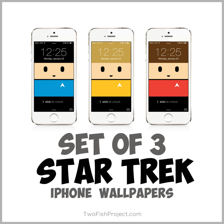 Star Trek Iphone Wallpapers Spock Scotty Captain Kirk For Iphone