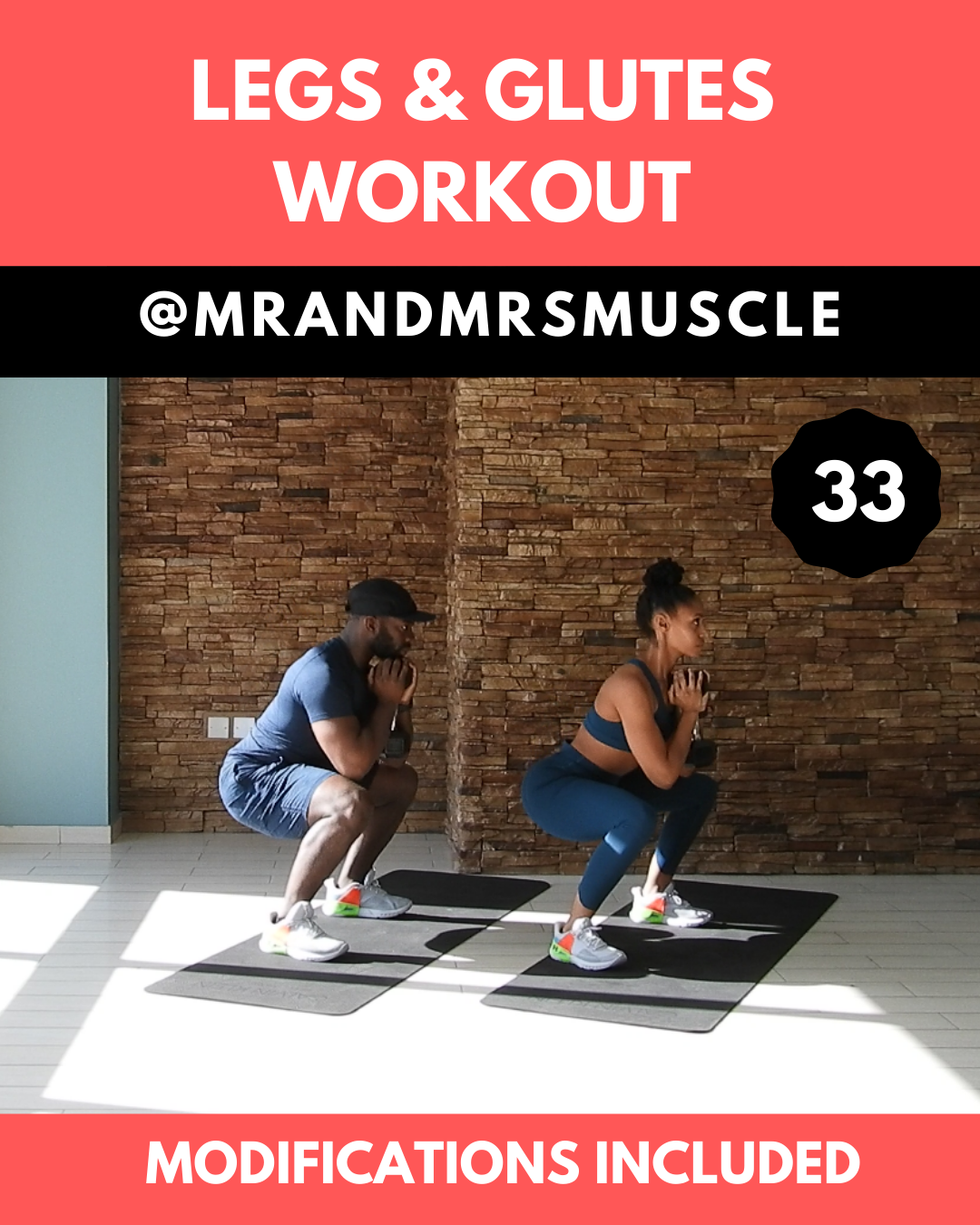 Tone your legs and lift your glutes in this fun but intense HIIT Workout. Beginner modifications are...
