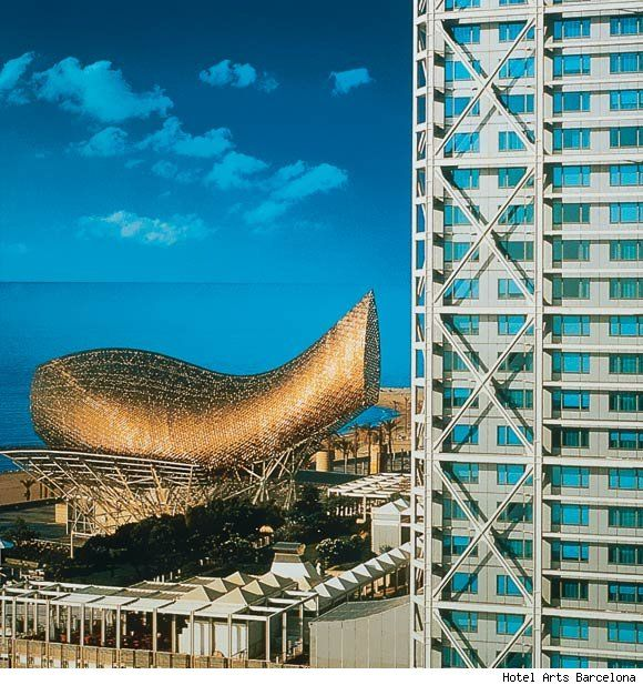 One Of The Premier Hotels In#barcelona#spain#hotel Arts