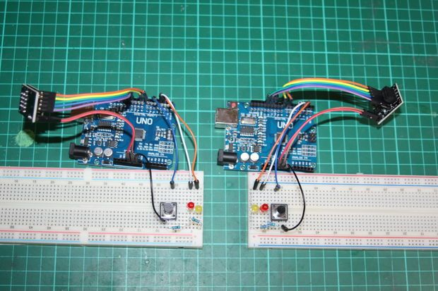 Arduino And Nrf24l01 Arduino Arduino Radio Arduino Projects