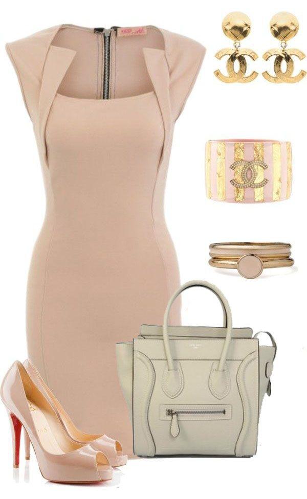 Celine Luggage Handbag Small 26CM in Cream