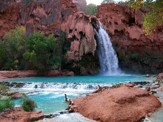 A Turquoise Oasis Hidden In The Middle Of High Desert Review Havasu Falls Supai Az Tripadvisor
