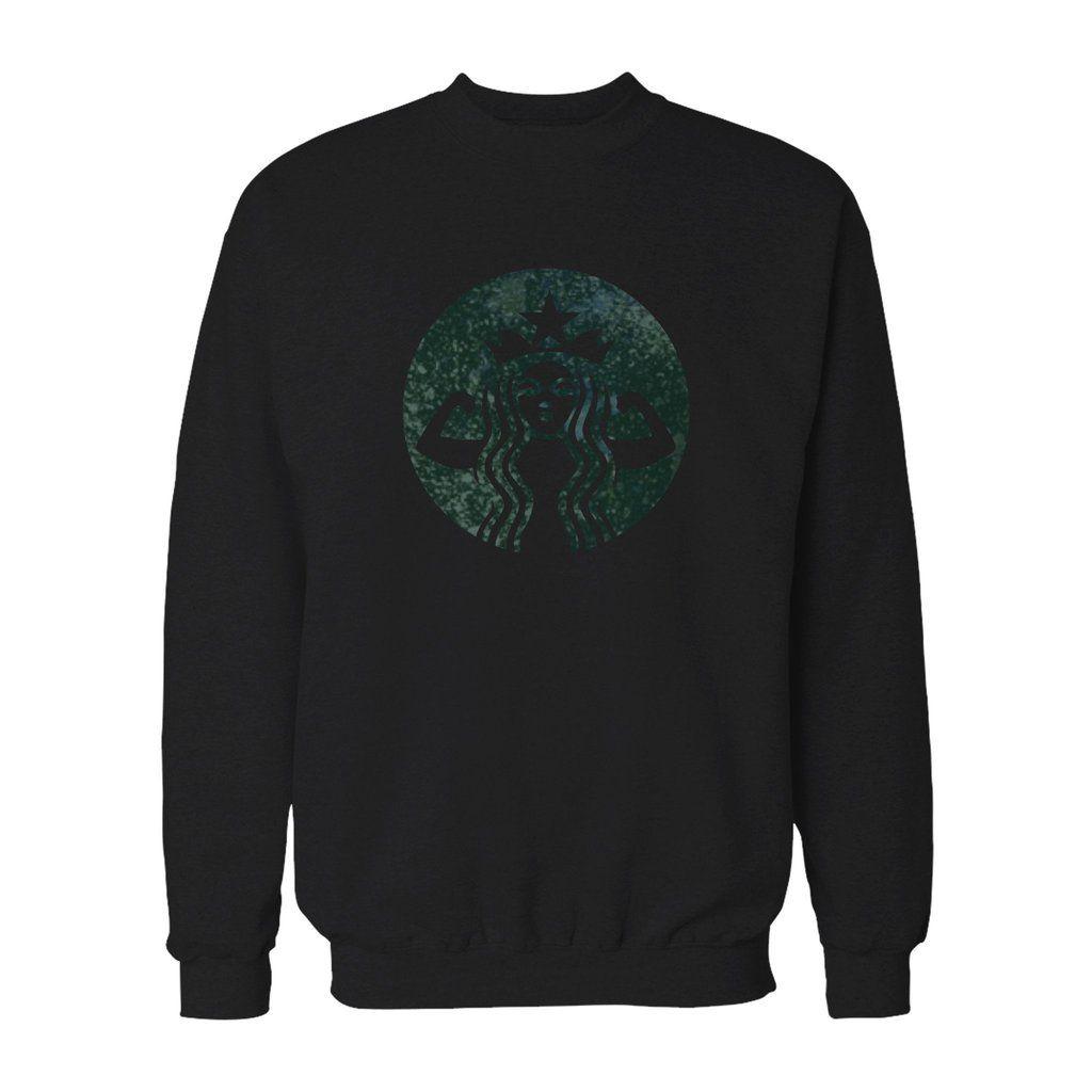Starbucks Strong Sweatshirt Sweatshirts Sweatshirts Sale Crew Neck Sweatshirt [ 1024 x 1024 Pixel ]