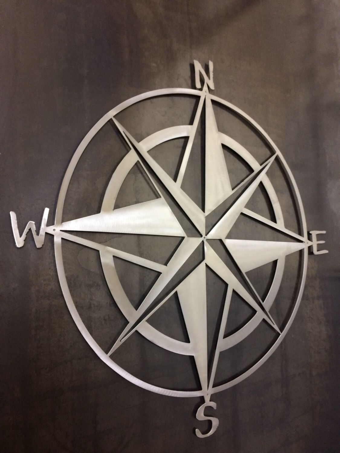 Metal Nautical Star Wall Decor
