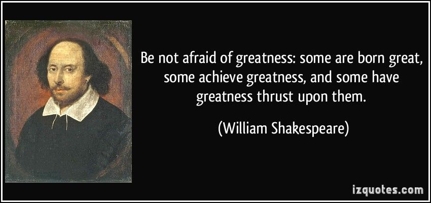 essay on greatness