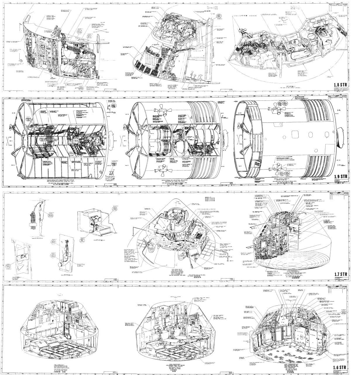 Skylab Schematic Gallery
