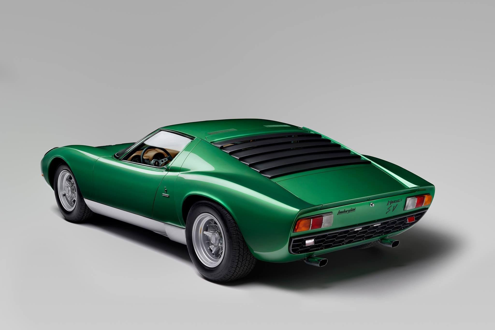 Bespoke Lamborghini Aventador Sv Pays Tribute To Special Miura