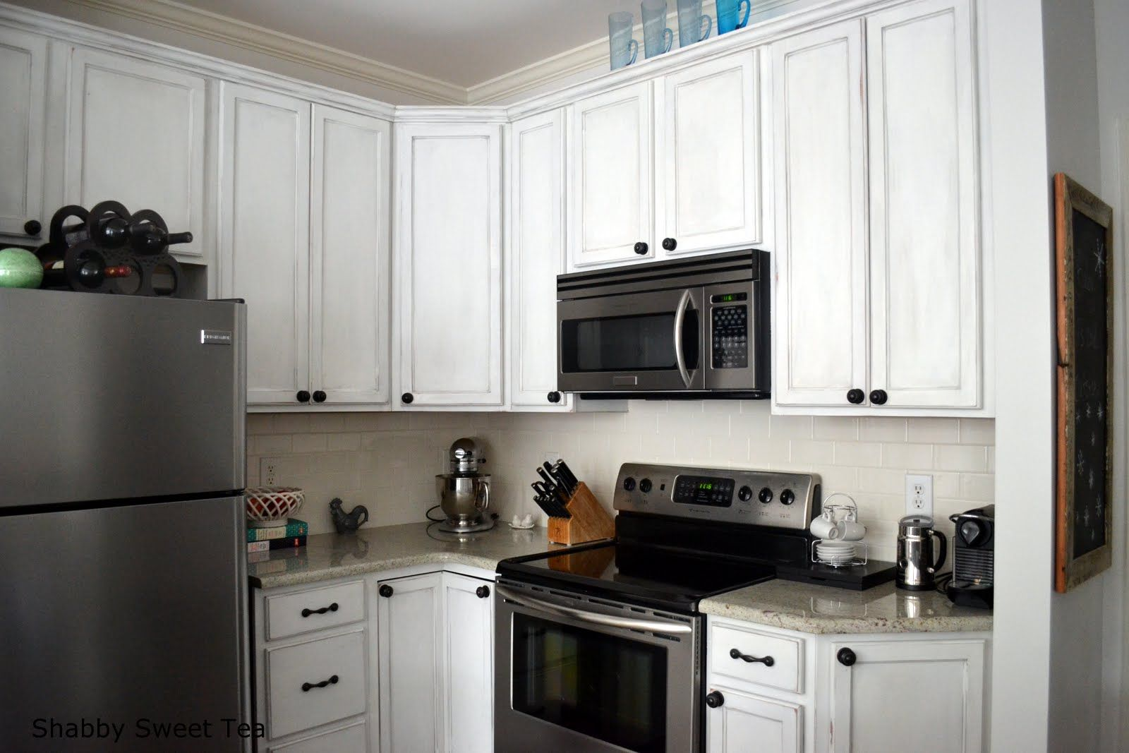 Pinheidi Goff On Kitchen Cabinets  Pinterest  Chalk Paint Magnificent How To Paint Kitchen Cabinets White Inspiration Design