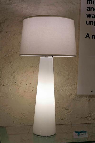 White Light Obelisk Table Lamp With Night Light Lamp Works Inc Luxe Home Philadelphia Lamp Night Light Lamp