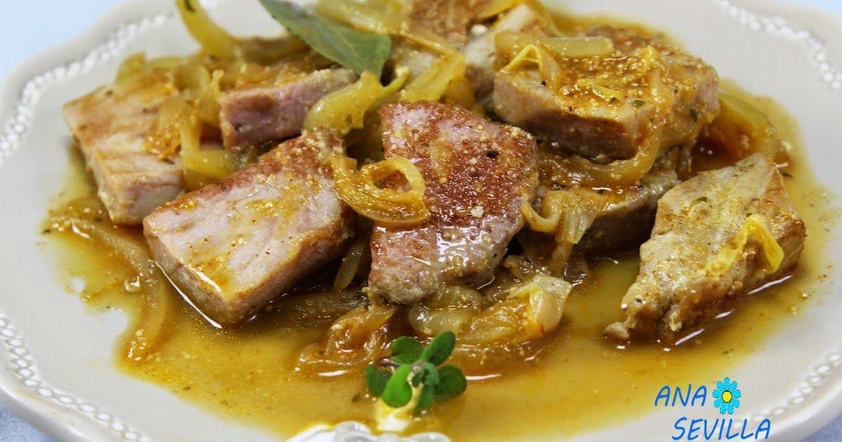 Recetas De Cocina Para El Verano | Atun Encebollado Cocina Tradicional Atun Con Verdura Recetas
