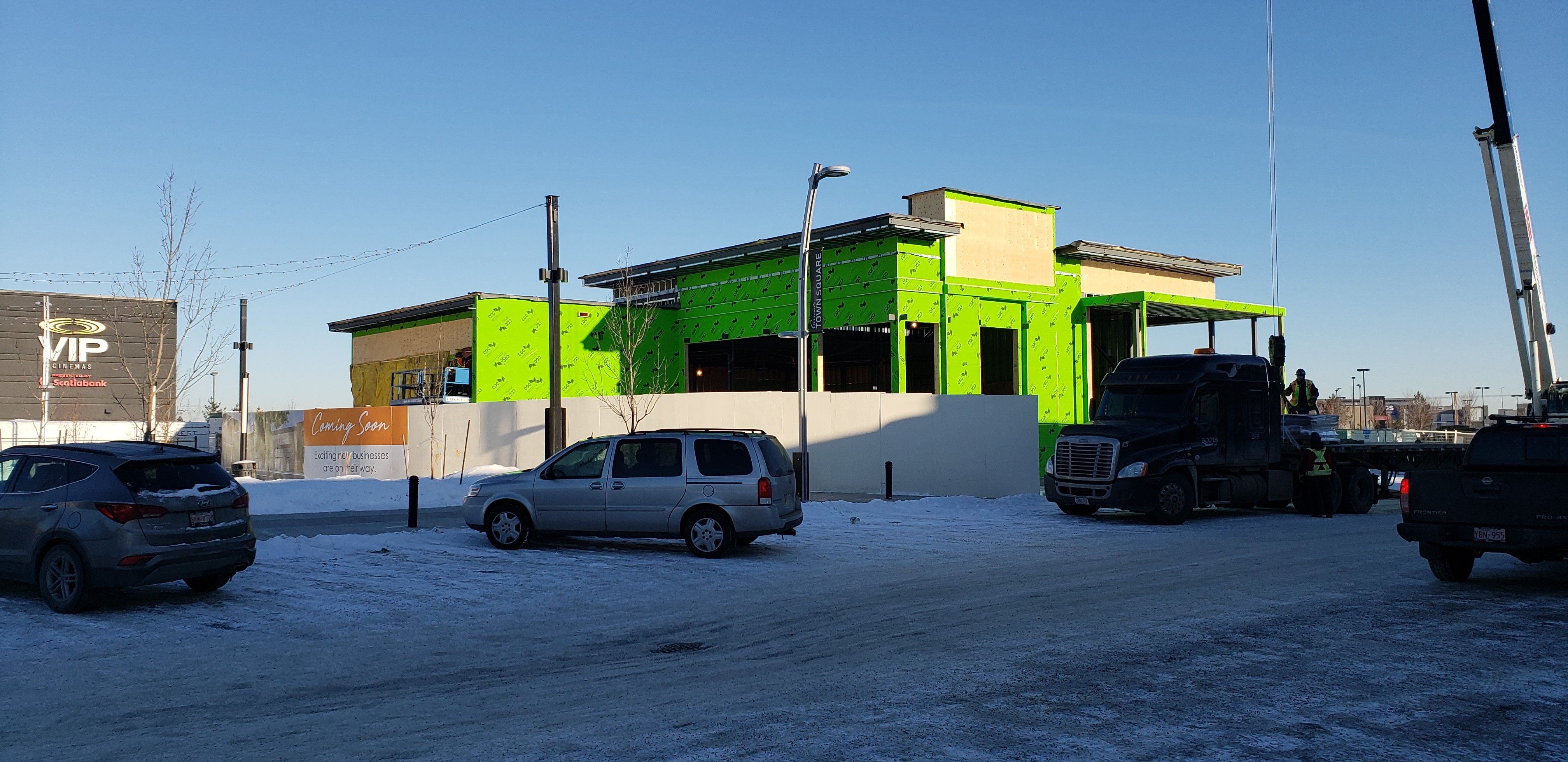 Currently Under Construction In Edmonton This Retail Project For Windermere Commercial Real Estate Features Stoth With Images Commercial Real Estate Edmonton Windermere