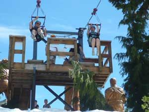 Grouse Mountain Zipline Tours In North Vancouver Bc