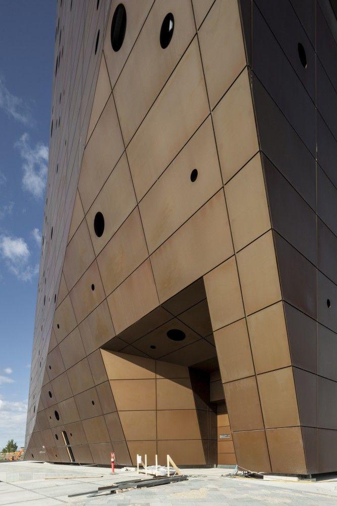 Gallery Of Incineration Line In Roskilde Erick Van Egeraat 26 Roskilde Facade Space Architecture