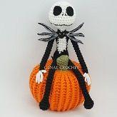 Patrones gratis Jack Skeleton amigurumi tutorial crochet ganchillo