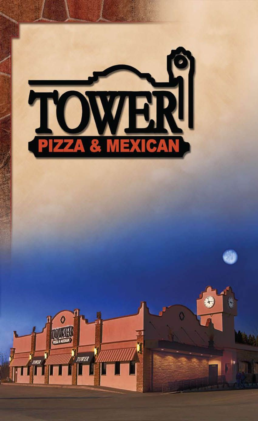 oh Tower...one of my favorites in Quincy!! Menu cover