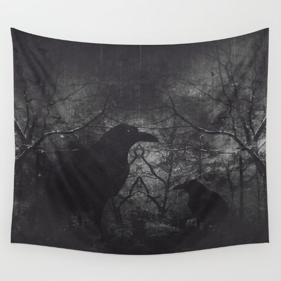 Buy Theres someone at the door Wall Tapestry by HappyMelvin. Worldwide shipping available at Society6.com. Just one of millions of high quality products available.