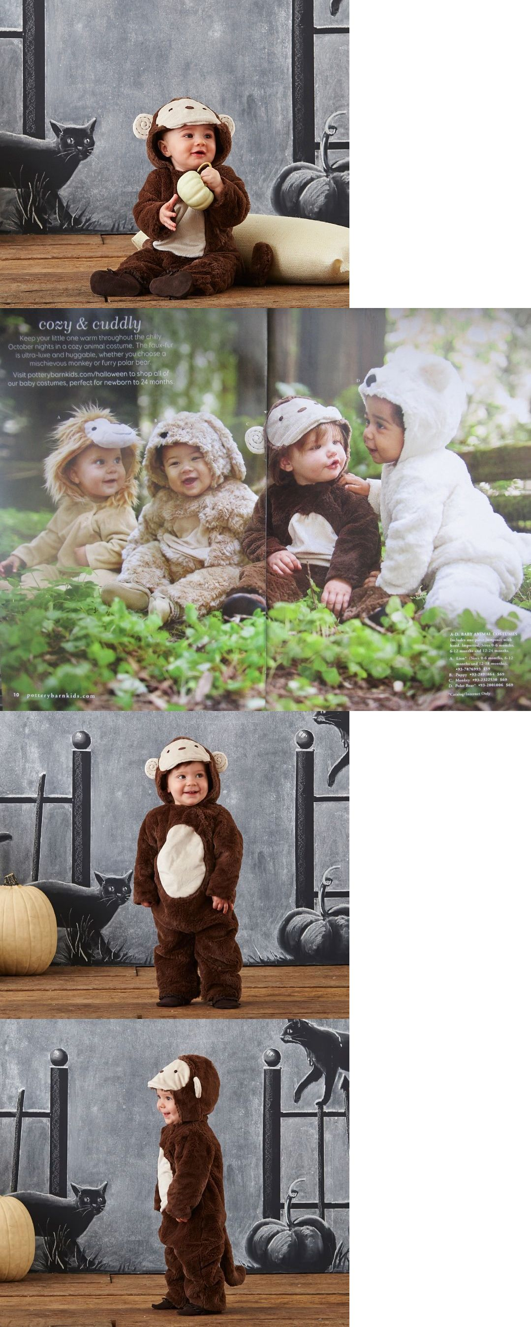 infants and toddlers 90635: $69 new pottery barn kids baby monkey