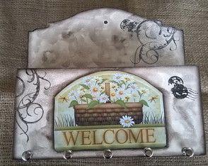 Porta Cartas e Chaves